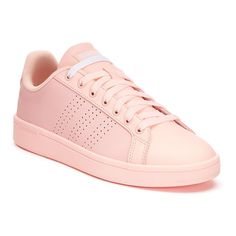 new concept 3e155 0f410 Adidas NEO Cloudfoam Advantage Clean Womens Shoes, Size 6.5, Light Pink  Adidas Cloudfoam