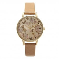 The Parlour is back! Reinventing itself with a beautiful camel strap, we think this style is a stunner <3 #oliviaburton