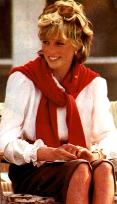 Princess Diana; inspired a lot of the fashions of the eighties and nineties.