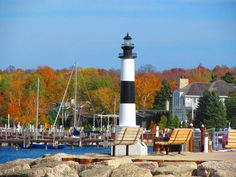 Fall in Sister Bay by Joan Langenohl