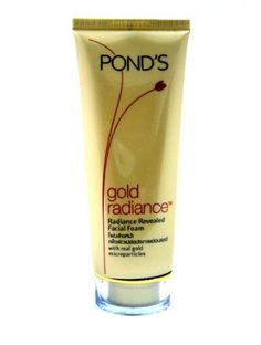 Pond's Gold Radiance Anti-aging Revealed Face Youthful Skin Facial Foam Cleanser Made in Thailand by TOP BEST PRODUCTS. $25.00. Type: Facial foam  Brand: Pond's  Variant: Gold Radiance Radiance Revealed Facial Foam  Product features: POND'S Gold Radiance-Radiance Revealed Facial Foam -with real gold microparticles. With age, skin gets drier and can become dull looking. Infused with real gold, thisrich creamy formula with luxurious lather was especially designed for ...