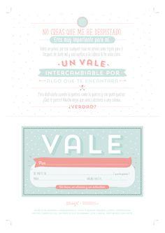 Descargable – Un vale que vale para mil regalos. | by Mr. Wonderful*