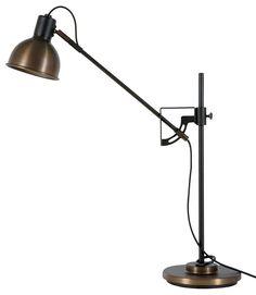 Tischlampe in oxid - Design Tischleuchte Magnum 2.0 LED dimmbar Hergestellt in Schweden von Belid - hier im #KONTOR1710