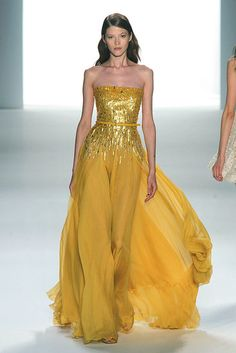 Elie Saab should just transfer all their spring 2012 clothes to my closet! :-)