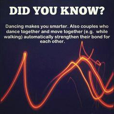 Dancing makes you smarter…