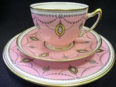 PARAGON - Star China - Pink ground trio