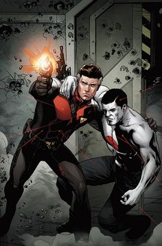 Bloodshot and H.A.R.D. Corps #15 regular cover by Emanuela Lupacchino