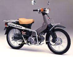 Rocketumblr — Honda Cub C90 Honda, Honda Cub, Honda Scooters, Retro Scooter, Four Stroke Engine, Brat Cafe, Cafe Racing, Chopper Bike, Motorcycle Engine