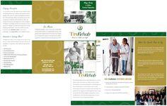 Brochure design // #GraphicDesign #Artwork #TruRehab