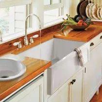 Randolph Morris 30 x 18 In Dual-Sided Fireclay Farmhouse Sink