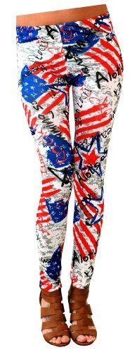 FunLeggings Women's American Flag Leggings One Size FunLeggings http://www.amazon.com/dp/B00J81K7RS/ref=cm_sw_r_pi_dp_jHnOub1C2YKB6