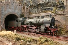 In 1967 Märklin released her first H0-scale model of a Prussian P 8, later known as Baureihe 3810-40.