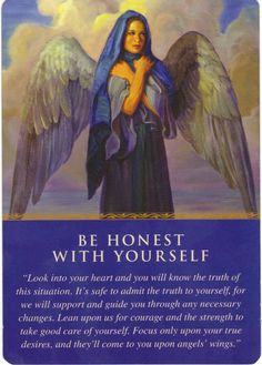 The Silent Voices Card of the day is Be Honest with Yourself ... click the image for the reading.... Re-Pin to share with your friends :)