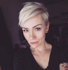 "3,064 Likes, 17 Comments - @shorthair_love on Instagram: ""@lenema911 #shorthairlove #pixiecut #undercut #shorthair #blondehair #hair #haircut #hairstyle"""