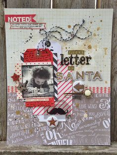 inspiration_elevator_christmas_photo_memories_scrapbook_tag_water_color by MyAnalogLife, via Flickr