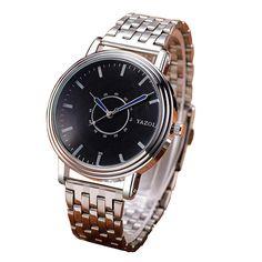 Sale 24% (7.99$) - YAZOLE 305 Fashion Men Quartz Watch Casual Analog Wrist Watch