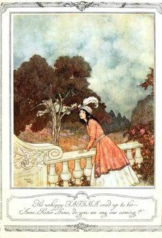 Vintage fairytale illustration