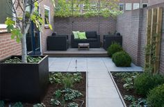 Clean, minimal paved outdoor area.