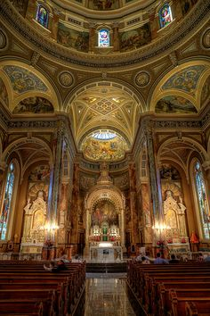 St. Josephat Basilica one of the most beautiful Basilica's I have ever seen in South Side, Milwaukee, WI
