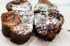 Čokoládový lávový koláč s nugátovou zmrzlinou | Urob si sám