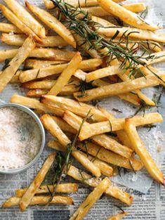 Matchstick rosemary potatoes. Donna Hay