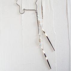 Lariat Necklace/ Long chain Necklace/ Bohemian Necklace
