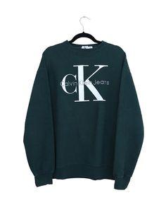 Calvin Klein Jeans Sweatshirt by thebreakvintage on Etsy