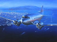 Douglas DC-3 (TWA) San Francisco by Lucio Perinotto