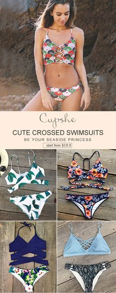 Give this summer even hotter, baby! Up from $19.9! Don't hesitate this time and shop them on Cupshe.com. These cute swimsuits will tell you what summer life should be. Check it out.