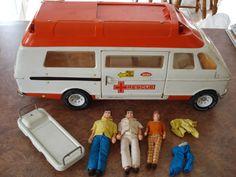 Tonka Rescue Ambulance Van #Tonka