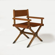 Director's Chair in Desert Modern Finish - Furniture - Products - Products - Ralph Lauren Home - RalphLaurenHome.com