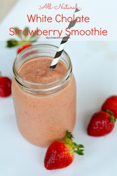 White Chocolate Strawberry Smoothie Recipe on Yummly