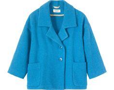 Ikat jackets, wrap jackets, smart jackets, workwear jackets, indigo denim jackets and wool coats. Tweed Coat, Embroidered Jacket, Corduroy Jacket, Keep Warm, Coats For Women, Work Wear, Blazer, Denim, Sweaters