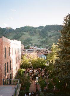 Hotel Jerome  Aspen Weddings Colorado Outdoor parties dream wedding views