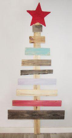 Arbol de Navidad con palets · DIY ·