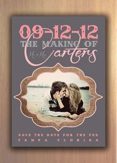 Creative Save the Date Card Ideas