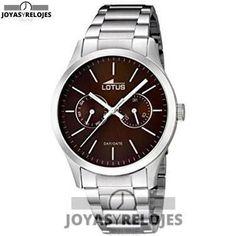 ⬆️😍✅ Lotus  15954/2 😍⬆️✅ Maravilloso Modelo de la Colección de Relojes LOTUS || PRECIO 79.61 € En Oferta Limitada en 😍 https://www.joyasyrelojesonline.es/producto/lotus-159542-reloj-de-cuarzo-para-hombre-con-correa-de-acero-inoxidable-color-plateado/ 😍 ¡¡Ofertas Limitadas!!