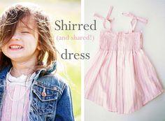 another cute dress from a men's shirt