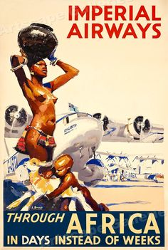 Imperial Airways thru Africa