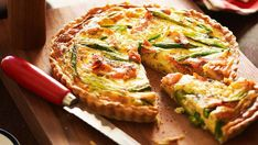 Quiche is so versatile and quick to prepare. This decadent smoked salmon version is great served with a salad for an easy mid-week dinner.