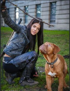 This is so cute #the100 #octaviablake #marie