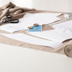 Materiais para curso de modelagem industrial em módulos da Sigbol Fashion