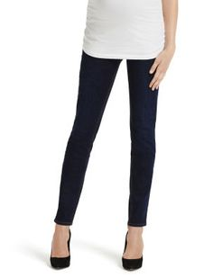 Ripped and light wash secret fit belly maternity jeans by Jessica ...