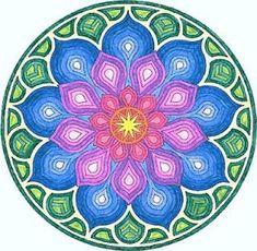 ⊰❁⊱ Mandala ⊰❁⊱  de Prosperidad y Abundancia