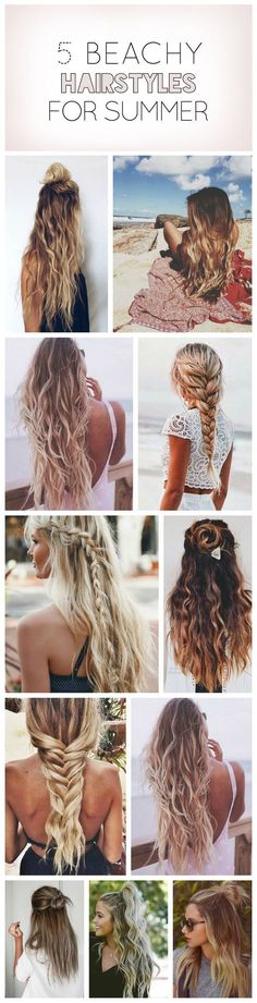 Beach hairstyles                                                                                                                                                      Mehr