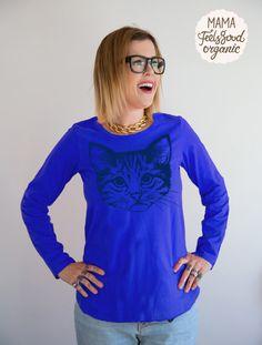 Mama FeelsGood - Blue Catty Breastfeeding top, £22.99 (http://www.mamafeelsgood.com/blue-catty-breastfeeding-top/)