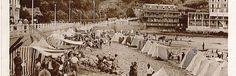 Les tentes de plage- Grande Plage de Saint Cast le Guildo