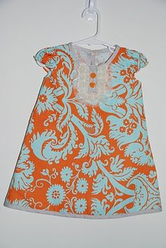 another free dress tutorial [I need to make this for the little girls in my life]