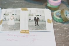 This is the most indie wedding I've ever seen and I'm obsessed.