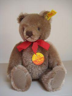 In my #ETSY Shop: #Steiff Vintage Original Caramel Mask Face #Teddy Bear - EAN 0202/26 – ALL Steiff IDs - #TeddyBear